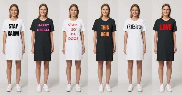 IL T-DRESS SEXY & COOL